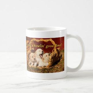 Havin' a Howlin' Good Time Basic White Mug