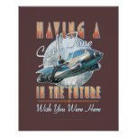 """Having a Swell Time in the Future  (16x20"""") Posters"""