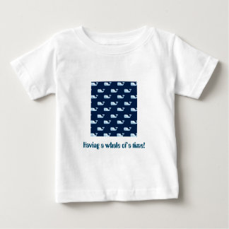 Having a whale of a time - gorgeous t shirt