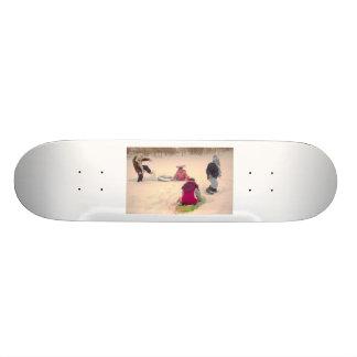 Having Fun Skate Deck