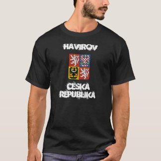 Havirov, Czech Republic with coat of arms T-Shirt