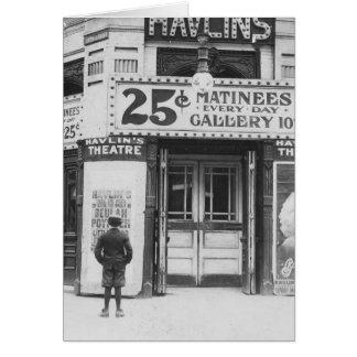 Havlin's Theatre, 1910 Card