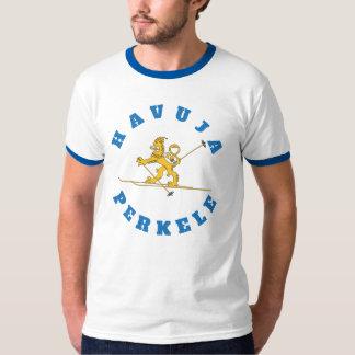 Havuja perkele - Suomileijona hiihtää pipo päässä T-Shirt