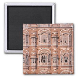Hawa Mahal (Palace of Winds), Jaipur Square Magnet