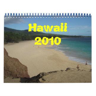 Hawaii 2010 wall calendars