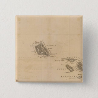 Hawaii 3 15 cm square badge