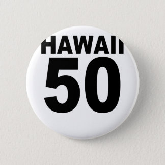 Hawaii 50.png 6 cm round badge