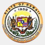 Hawaii 50th Sticker