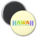 Hawaii 6 Cm Round Magnet