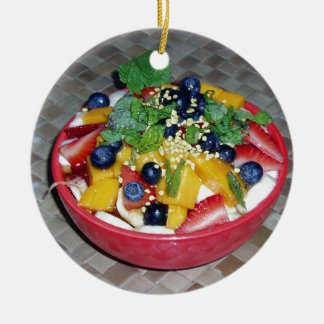 Hawaii Acai Bowl Christmas Ornament