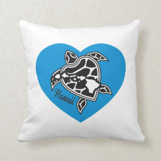 Hawaii Aloha Turtle Cushion