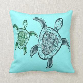 Hawaii Aloha Turtle Cushion