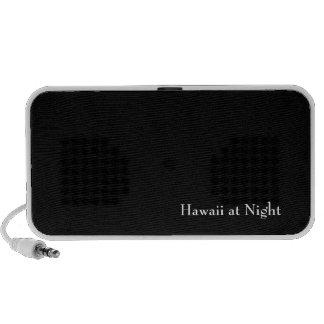 Hawaii at Night iPod Speakers