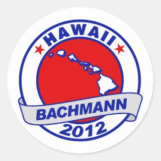 Hawaii Bachmann Stickers