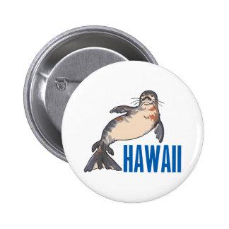 Hawaii 6 Cm Round Badge