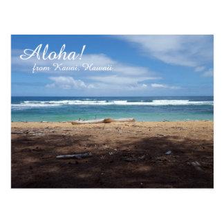 Hawaii Beach Postcard