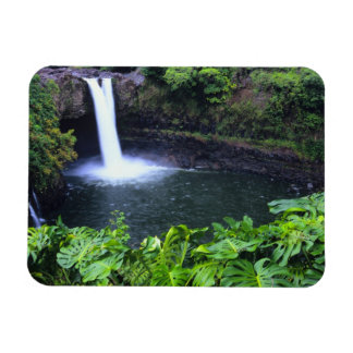 Hawaii, Big Island, Hilo, Rainbow Falls, Lush Magnet