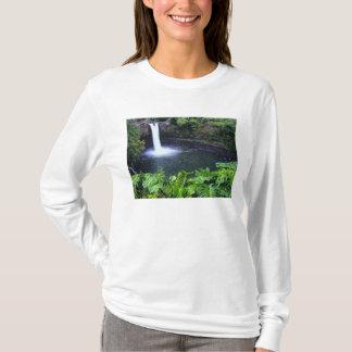 Hawaii, Big Island, Hilo, Rainbow Falls, Lush T-Shirt
