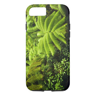 Hawaii, Big Island, Lush tropical greenery in 2 iPhone 8/7 Case