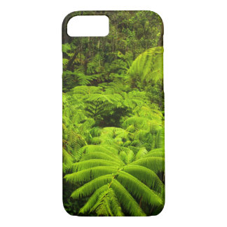 Hawaii, Big Island, Lush tropical greenery in iPhone 8/7 Case