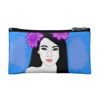 Hawaii Blue Makeup Bag