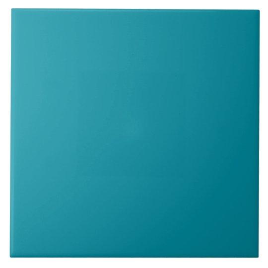 Hawaii Blue Personalised Aqua Teal Background Large Square