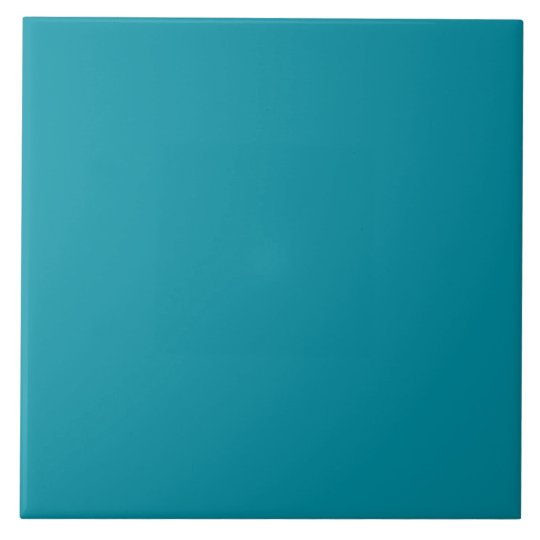 Hawaii Blue Personalised Aqua Teal Background Tile