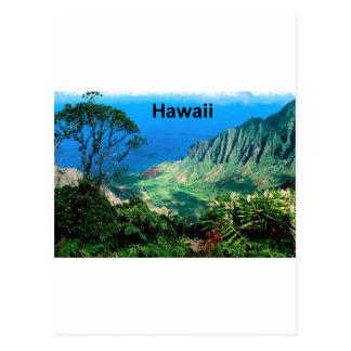 Hawaii Breezes Kalalau Valley Kauai St K Postcard