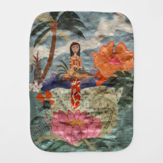 Hawaii Burp Cloth