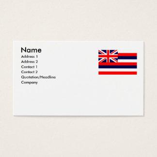 HAWAII BUSINESS CARD