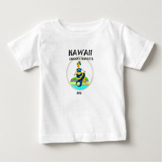Hawaii Chicken Nuggets  Mermaid  Chicken Baby T-Shirt