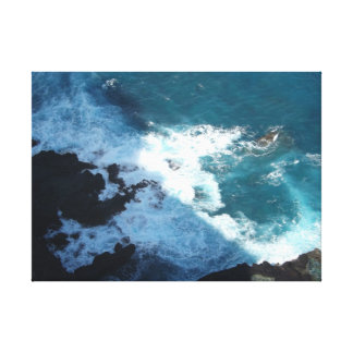 Hawaii Coast Stretched Canvas Print