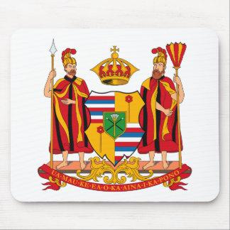 Hawaii Coat of Arms Mousepad