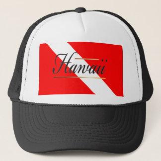 Hawaii Dive Flag Trucker Hat