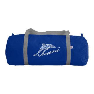 Hawaii Dolphin Bag Gym Duffel Bag