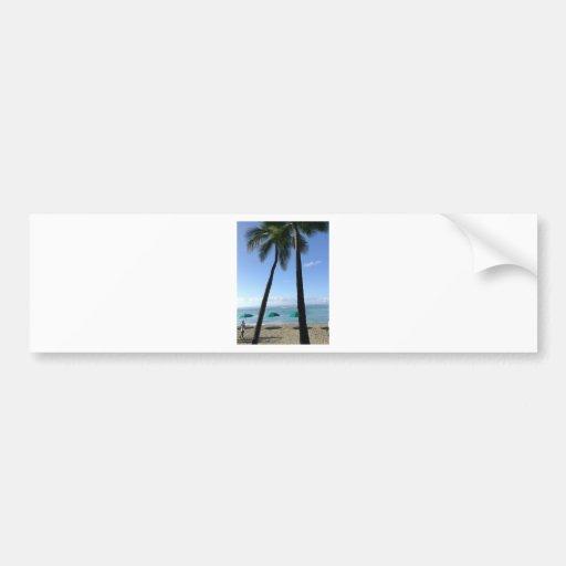 Hawaii Fever Bumper Sticker