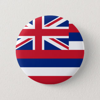 Hawaii Flag 6 Cm Round Badge