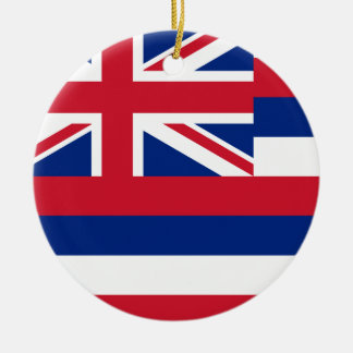 Hawaii Flag Christmas Ornament