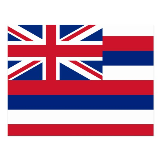 Hawaii Flag Postcard