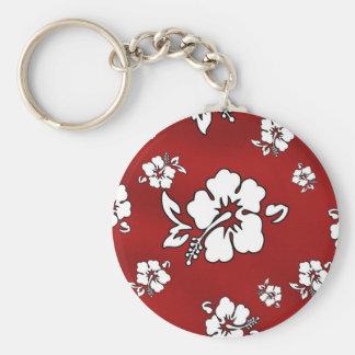 Hawaii flower key ring