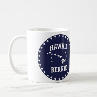 HAWAII FOR BERNIE SANDERS COFFEE MUG