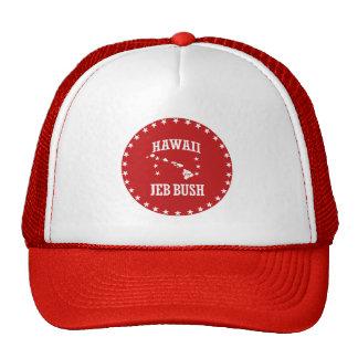 HAWAII FOR JEB BUSH CAP