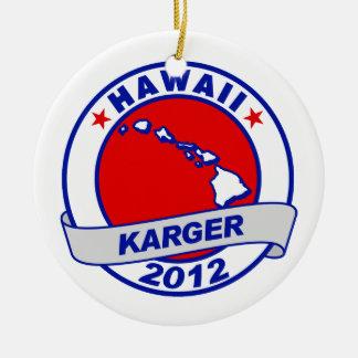 Hawaii Fred Karger Christmas Ornaments