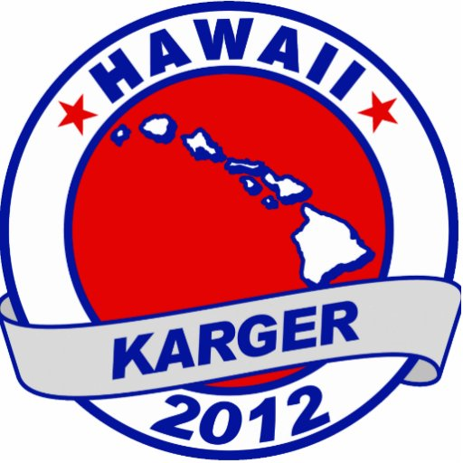 Hawaii Fred Karger Cut Outs