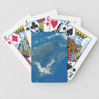 Hawaii from Space Bicycle Playing Cards