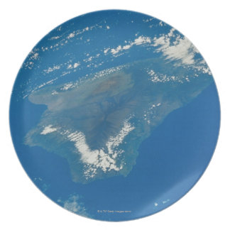 Hawaii from Space Plate