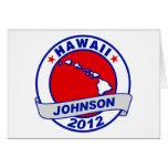 Hawaii Gary Johnson Greeting Card