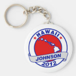 Hawaii Gary Johnson Keychains