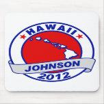 Hawaii Gary Johnson Mouse Pad