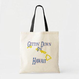 Hawaii - Gettin' Down Budget Tote Bag